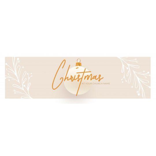 Church Website Banner Graphics - Christmas at Church - 2400 x 800 px