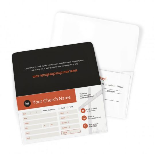 Church Large Offering Envelopes - Calvary YEARLY THEME - 3.625 x 6.5 in.