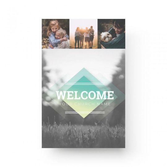 Church Bulletin Covers - Diamond Field Service - 8.5 x 11 in.