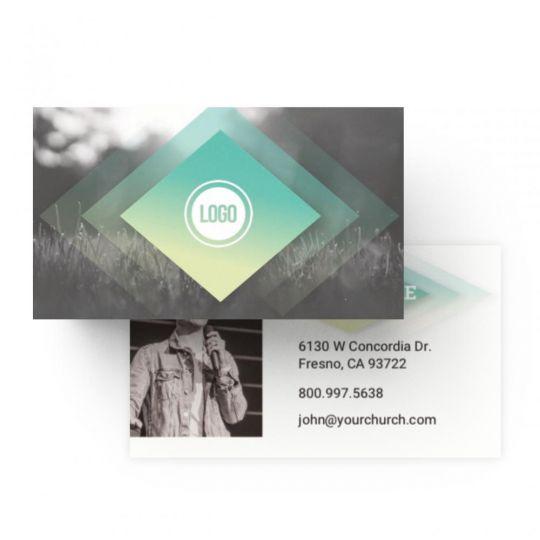 Business Cards - Diamond Field Service - 3.5 x 2 in.