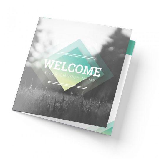 Trifold Welcome Brochure - Diamond Field Service - 5.5 x 17 in.