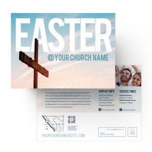 Easter Blue Cross
