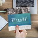 Trifold Welcome Brochure - Gradient Service - 5.5 x 17 in.