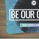 Standard Invite Cards - Be Our Guest Circle Gradient