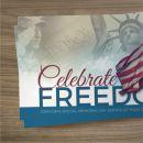 Mini Invite Cards - Celebrate Freedom - 3.5 x 2 in.