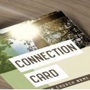Connection Cards - Cross YEARLY THEME - 8.5 x 3.5 in.