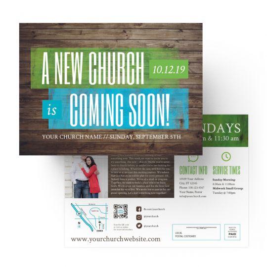 EDDMs - A New Church Coming Soon