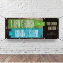 Church Horizontal Banner - A New Church Coming Soon