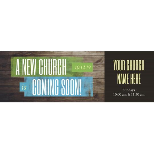 Website Banner Graphic - A New Church Coming Soon